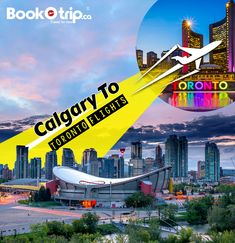 Travel from the energy capital of Canada 🇨🇦 Calgary to the start-up capital of Canada Toronto with BookOtrip ✈️ ✈️ Calgary International Airport, Hand Baggage, Air Ticket Booking, Cheap Flight Deals, Capital Of Canada, Travel Expert, Domestic Flights, Canada Ontario, Toronto Canada