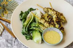 Macadamia Satay Chicken Skewers recipe: Healthy dinner choice from The Wholesome Cook