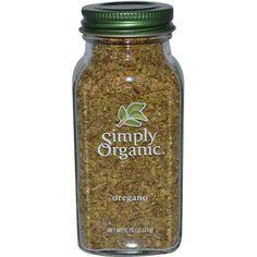 $3.63 Simply Organic, Oregano, 0.75 oz (21 g)