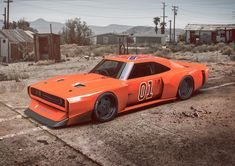 If this image offends you, swipe to see the one that'd be more fitted for you. __ General Lee gone Speedtail. Aka, more offensive content… Famous Movie Cars, Cool Car Pictures, Dodge Muscle Cars, General Lee, Modified Cars, American Muscle Cars, Dodge Charger, Custom Cars, Car Tuning