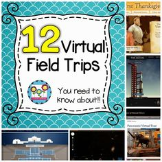 12 Virtual Field Trips You Don't Want To Miss! by Create-abilities