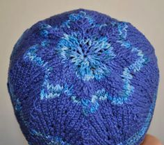 Cotton Twirl Scalloped Hat (top)
