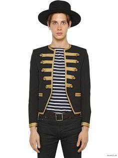 Saint-Laurent-Napoleonic-Officer-Embroidered-Wool-Gabardine-Cropped-Jacket-Spring-Summer-2015-1.jpg (1125×1500)