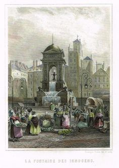 La Fontaine des Innocents (Paris) Halles, St Denis, Places Of Interest, Bucharest, Rue, Champs, 18th Century, Wander, Deco