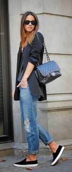 402490661fd0 How to Wear Ripped Jeans. Spring SummerRoztomilé OblečenieTopánkyMódne ...