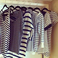 I can never say no to striped shirts