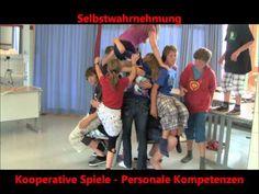 Stuhlspiel Kooperationsspiel - YouTube
