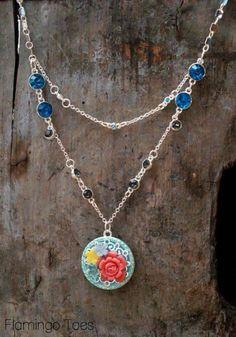 DIY Necklace  : DIY Summer Garden Jewelry SetFlamingo Toes