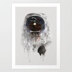 Astronaut  #spaceart #spaceillustration #spaceprint #finalfrontier #astronaut #spaceman