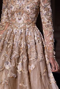 Beautiful detailed dress