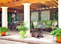 Oudoor Living - traditional - patio - charleston - April Lipps