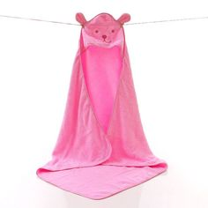 Baby Bath Towel Newborn Plain Blankets Towels