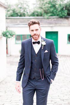 #hipstergroom #groom #tweed #wedding #summerwedding #englishcountrygarden #englishwedding English Wedding, Hipster Groom, Tweed, Double Breasted Suit, Wedding Suits, Suit Jacket, Jackets, Weddings, Fashion