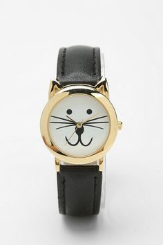 Meow O'Clock Watch #urbanoutfitters