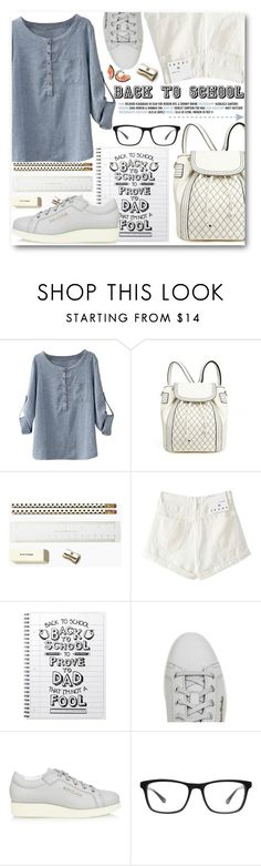 """""""Back To School"""" by stylemoi-offical ❤ liked on Polyvore featuring Kate Spade, Acne Studios, Joseph Marc, Bobbi Brown Cosmetics, BackToSchool, polyvorecommunity, polyvoreeditorial, polyvoreset and PolyvoreMostStylish"""