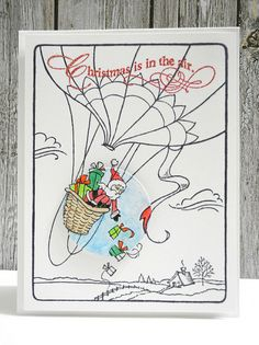 #Stampendous Christmas is in the Air by Jennifer Ingle, via Flickr