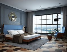 """Check out new work on my @Behance portfolio: """"PENHOUSE BEDROOM"""" http://be.net/gallery/41688693/PENHOUSE-BEDROOM"""