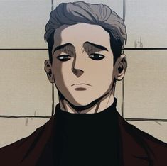 Hot Anime Boy, Anime Guys, Otaku Anime, Anime Art, Sangwoo Killing Stalking, Cute Panda Drawing, Manga Cute, Anime Animals, Anime Boyfriend
