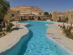 Pool at Shali Ecolodge in Siwa Oasis, Egypt (by z.patrizia).