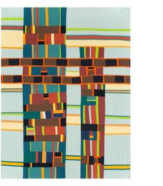 Early Experiments - Gerri Spilka Quilts......I need to pull out those bags of strip pieced fabric!