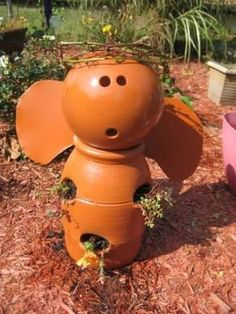 """Golf Clubs Repurposed Nell Stelzer says, """"I want to thank Mary Everett for giving the idea and inspiration for yet another bowling ball project! My sis in law gav."""