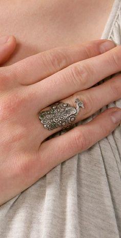 peacock ring...