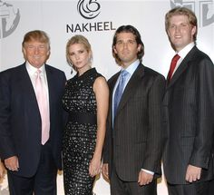Trump's Dubai business partner does not think moratorium on new deals will actually exist Donald Trump Son, Eric Trump, Dubai Business, Trump Kids, Politics Today, Our President, New York S, Political Party, Adult Children
