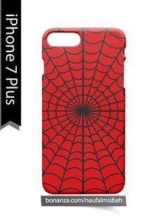Spiderman Web Marvel iPhone 7 PLUS Case Cover Wrap Around3