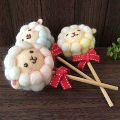 【とりのとりこ*ブログ】Feltneedle wool