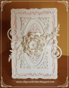 Elly's Card- Corner: Radiant Rectangles