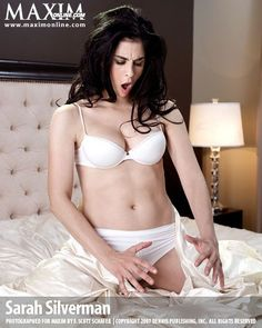 Sarah Silverman for Maxim - Clearly hung.