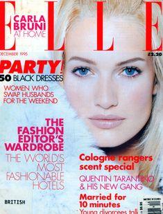 ☆ Karen Mulder | Photography by Andre Rau | For Elle Magazine UK | December 1995 ☆ #Karen_Mulder #Andre_Rau #Elle #1995