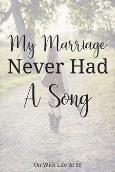 My marriage never had a song. You are probably wondering what in the world is she talking about. Music can bring two souls together. Divorce, Marriage, Never, Bring It On, Relationship, Songs, World, Music, Life