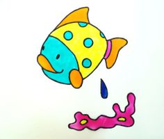 Window Cling Stained Glass Effect sea life colorful Fish bath tile mirror Decal