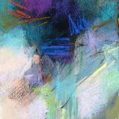 Small study for a larger painting.  Pastel on paper by Debora L. Stewart