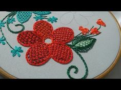 EMBROIDERY DESIGN for cushion \  ВЫШИВКА ДЛЯ ПОДУШКИ - YouTube