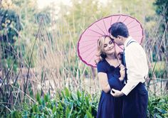 Pretty engagement photo taken by Kelly Canova Photography at Mead Botanical Garden in Winter Park