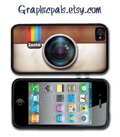 Instagram  iPhone 4 case iPhone 4s Case  Silicone by Graphicpals, $15.00