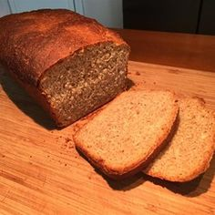 Ezekiel Bread I - Allrecipes.com..Cover wheatberries with water-soak 2 days and change water daily. Soak barley overnight, Drain and grind. Some suggest to reduce honey,Be sure to use 3 bread pans.
