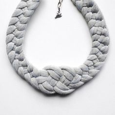 Etsy's Birdie Numnum Shop Features Knitted Jewelry Pieces #chokers trendhunter.com