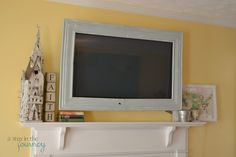 How to build a Wall Mounted Framed TV