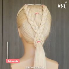 Easy Hairstyles For Long Hair, Braids For Long Hair, Little Girl Hairstyles, Up Hairstyles, Braided Hairstyles, Hairstyle Ideas, Halloween Hairstyles, Toddler Hairstyles, Hairstyle Short