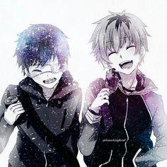 hide and kaneki were so precious