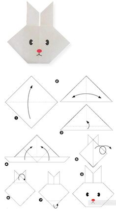 tuto chat en papier bricolage et diy pinterest origami origami facile et chat origami. Black Bedroom Furniture Sets. Home Design Ideas