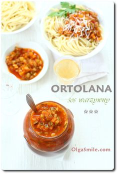 Sos warzywny Ortolana