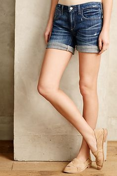 Pilcro Hyphen Roll-Up Shorts - anthropologie.com #anthrofave