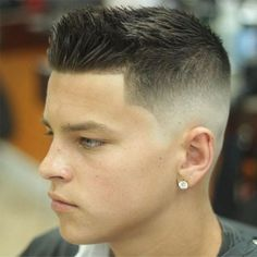 Hairstyles For Boys With Short Hair