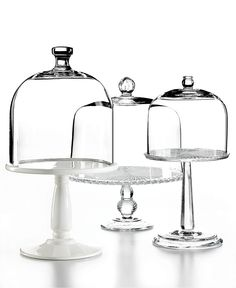 My Cake Stand collection just keeps growing & growing. No, I don't own a bakery ;0) But I find them all at tag sales & flea markets! Martha Stewart Collection Domed Cake Stands