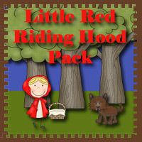 FREE Little Red Ridding Hood Pack - over 60 pages in the pack plus a  33 page Tot Pack. Great for kids ages 2 to 9 - 3Dinosaurs.com