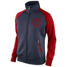 Women's Minnesota Twins Nike Navy Blue Track Jacket 1.5